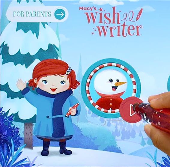 Macy's Wishwriter