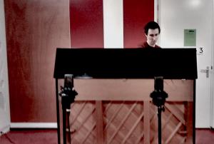 Playing percussive piano