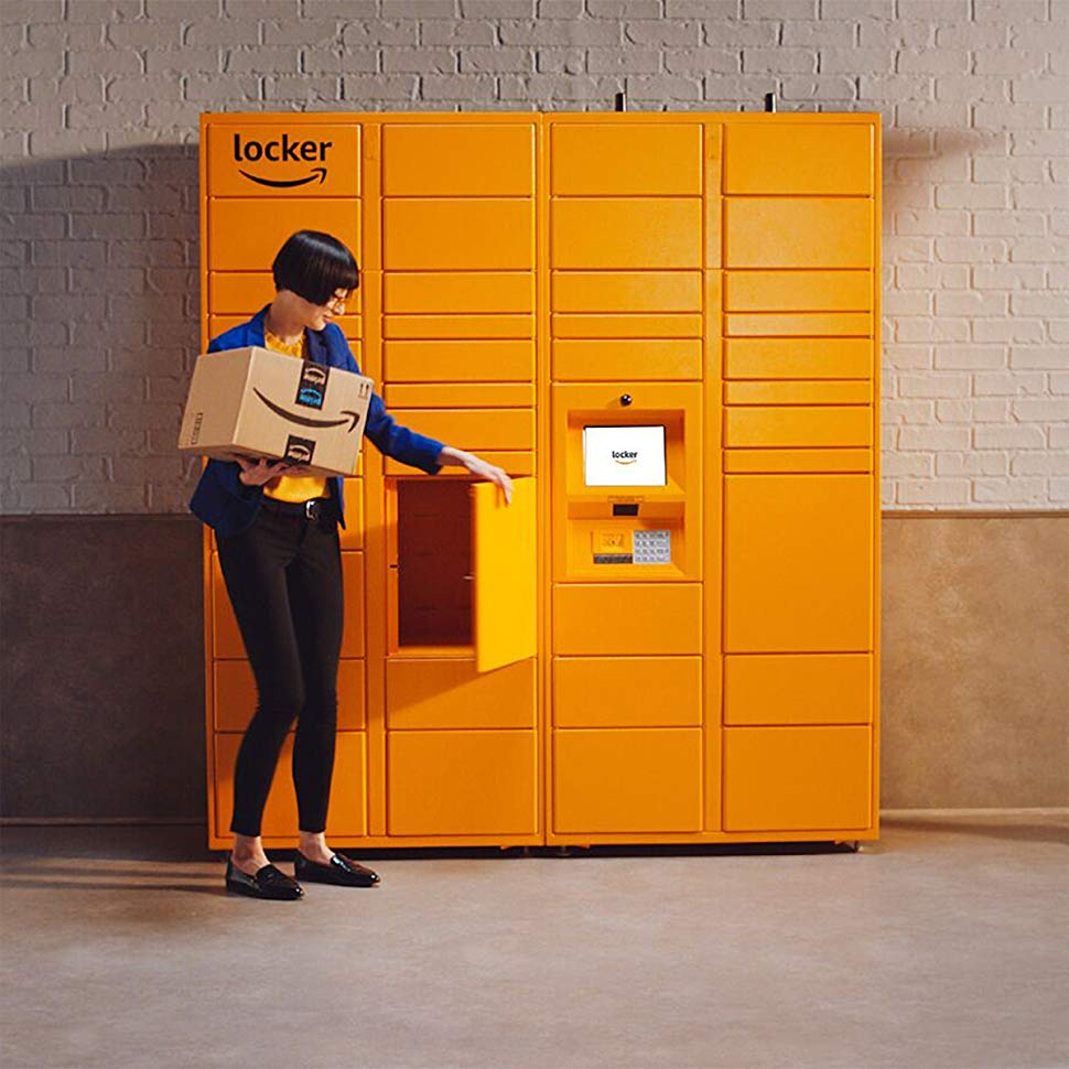 Amazon Locker Room